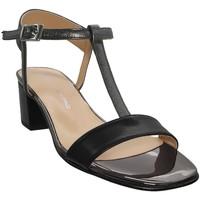 Chaussures Femme Sandales et Nu-pieds Brenda Zaro F2697 Noir cuir