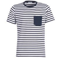 Kleidung Herren T-Shirts Casual Attitude KARALE Marine / Weiss