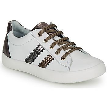 Schuhe Mädchen Sneaker Low GBB MAPLUE Weiß