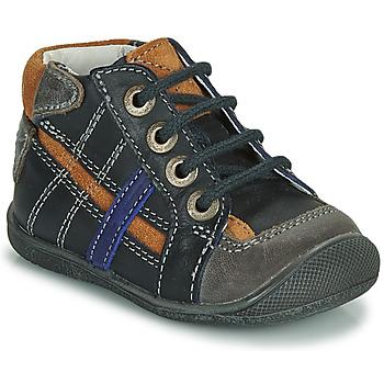 Schuhe Jungen Boots Catimini COLIN Marineblau
