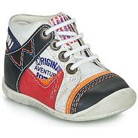 Schuhe Jungen Boots Catimini CACHALOT Weiß