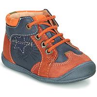 Schuhe Jungen Boots Catimini CARACAL Blau