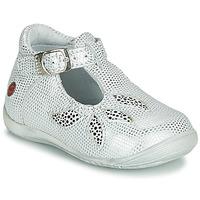 Schuhe Mädchen Sandalen / Sandaletten GBB MARIE Weiß / Silbrig