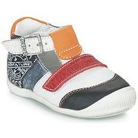 Schuhe Jungen Sandalen / Sandaletten GBB MARTIN Weiß / Marineblau