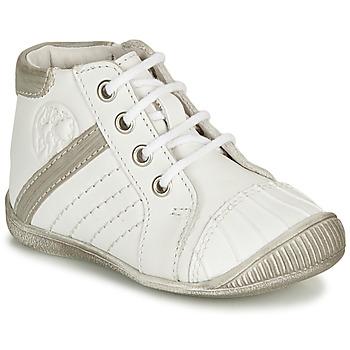 Chaussures Garçon Boots GBB MATYS Blanc