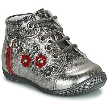 Schuhe Mädchen Boots GBB NAYANA Silbrig