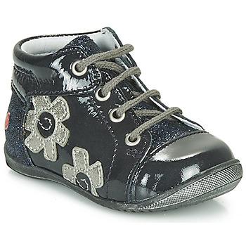 Schuhe Mädchen Sneaker High GBB NEIGE Marineblau / Silbrig