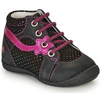 Chaussures Fille Boots GBB NOEMIE Noir