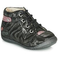 Schuhe Mädchen Boots GBB NICOLE Silbrig