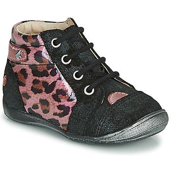 Schuhe Mädchen Boots GBB NICOLE Schwarz / Rose