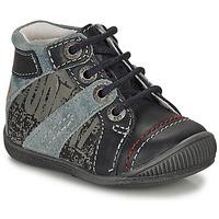 Schuhe Jungen Boots GBB NOLAN Grau / Blau