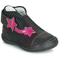 Schuhe Mädchen Boots GBB NOLWENN Schwarz / Rose