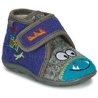 Schuhe Jungen Hausschuhe GBB NASTRIANO Blau / Grau