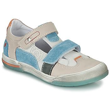 Schuhe Jungen Sandalen / Sandaletten GBB PRINCE Beige / Blau