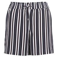 Vêtements Femme Shorts / Bermudas Only ONLPIPER Marine / Blanc