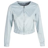Abbigliamento Donna Giacca in cuoio / simil cuoio Only ONLLEONA Blu