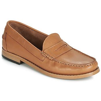 Chaussures Femme Mocassins André CESAR Cognac
