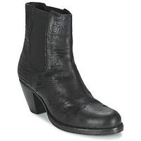 Schuhe Damen Low Boots Fred de la Bretoniere ALMERE Schwarz