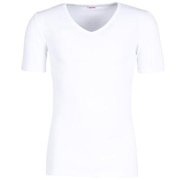 Biancheria Intima  Uomo Maglietta intima Damart CLASSIC GRADE 3 Bianco