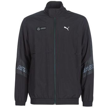 Kleidung Herren Trainingsjacken Puma MAPM STREET WOVEN JACKET MERCEDES Schwarz