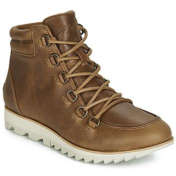 Chaussures Femme Boots Sorel HARLOW LACE Cognac