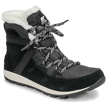 Schuhe Damen Boots Sorel WHITNEY FLURRY Schwarz
