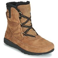 Chaussures Femme Boots Sorel WHITNEY SHORT LACE PREMIUM Camel