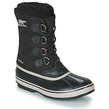 Chaussures Homme Bottes de neige Sorel 1964 PAC NYLON Noir
