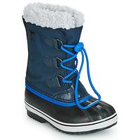 Chaussures Enfant Bottes de neige Sorel YOOT PAC NYLON Marine