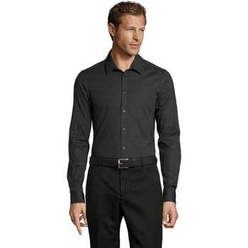 Vêtements Homme Chemises manches longues Sols BLAKE MODERN MEN Gris