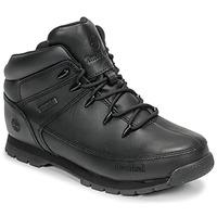Schuhe Kinder Boots Timberland EURO SPRINT Schwarz