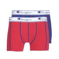 Sous-vêtements Homme Boxers Champion UNI X2 Rouge / Bleu