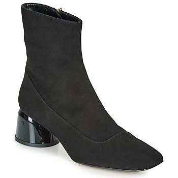 Schuhe Damen Boots Castaner LETO Schwarz