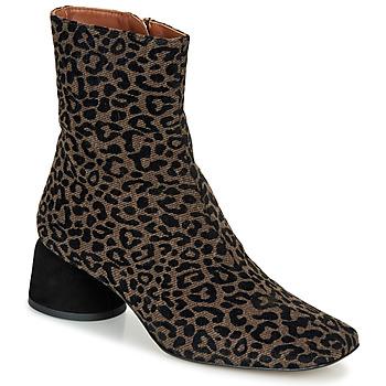 Schuhe Damen Boots Castaner LILO Braun,
