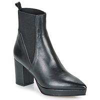 Schuhe Damen Boots Castaner OLGA Schwarz