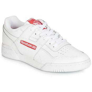 Chaussures Baskets basses Reebok Classic WORKOUT PLUS MU Blanc / Rouge