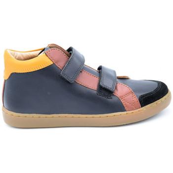 Chaussures Garçon Boots Shoo Pom play mid bleu