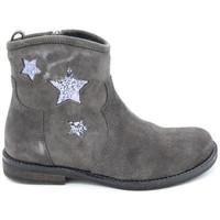 Chaussures Fille Boots Reqin's kampus peau Gris