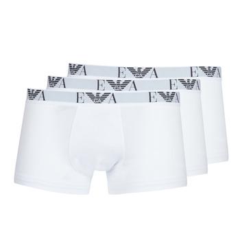 Sous-vêtements Homme Boxers Emporio Armani CC715-PACK DE 3 Blanc