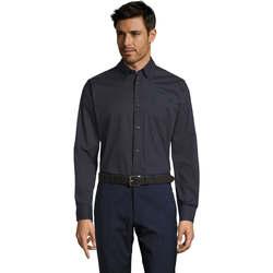 Vêtements Homme Chemises manches longues Sols BEL-AIR TWILL MEN Azul