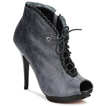 Schuhe Damen Ankle Boots Carmen Steffens 6002043001 Schwarz / Grau