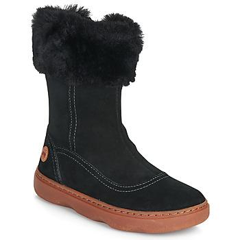 Chaussures Fille Bottes ville Camper KIDDO Noir