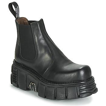 Chaussures Femme Boots New Rock M-1554-C1 Noir