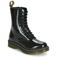 Chaussures Femme Boots Dr Martens 1490 PATENT LAMPER Noir