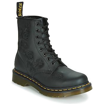 Chaussures Femme Boots Dr Martens 1460 VONDA MONO SOFTY T Noir