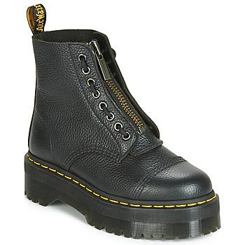 Chaussures Femme Boots Dr Martens SINCLAIR AUNT SALLY Noir