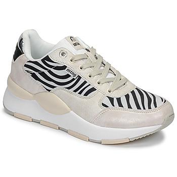 Scarpe Donna Sneakers basse MTNG 69867-C47433 Nero / Bianco