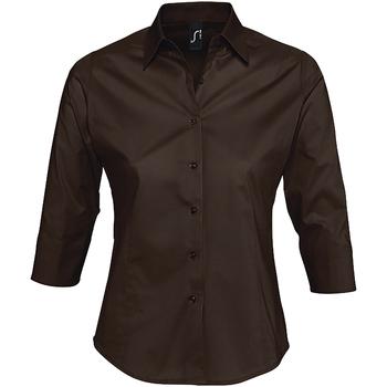Vêtements Femme Chemises / Chemisiers Sols EFFECT ELEGANT Marrón