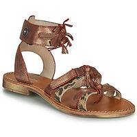Schuhe Mädchen Sandalen / Sandaletten Catimini CABRI Braun,