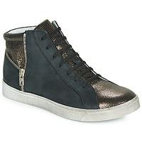 Schuhe Mädchen Sneaker High Achile CARLA Schwarz